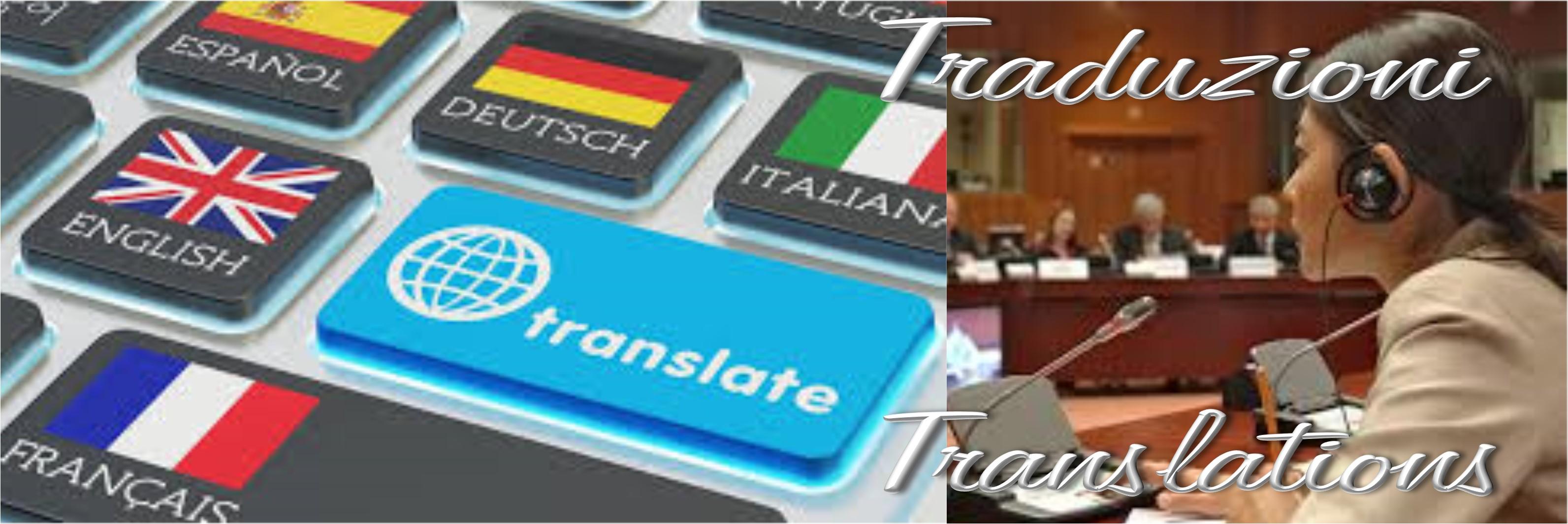 Traduzioni, Translations